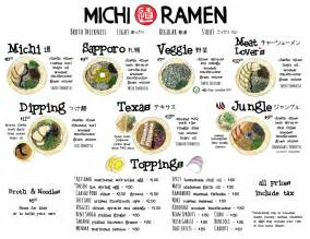 Michi Ramen Tx Michi Ramen Menu Feto Soap