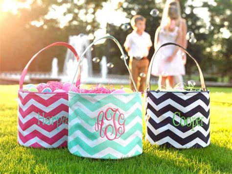 one easter tote bag personalized monogrammed egg
