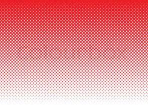 Freelance Home Design Jobs Red Background With White Halftone Dot Gradient Concept