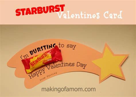 starburst valentines starburst s day card
