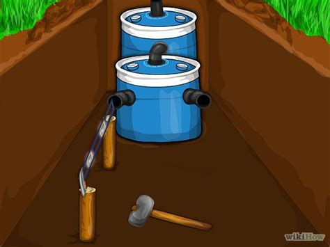Small Septic System For Cabin by A Small Diy Septic System Living The Grid Free
