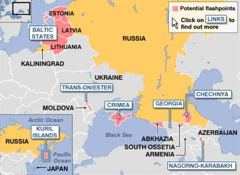 map quiz of russia and the near abroad news special reports russia potential flashpoints