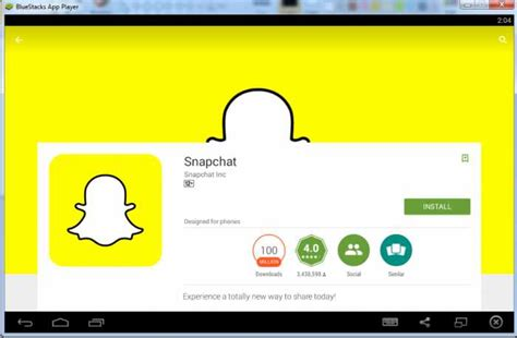 bluestacks you re using a version of snapchat snapchat for pc download windows 8 8 1 7 mac