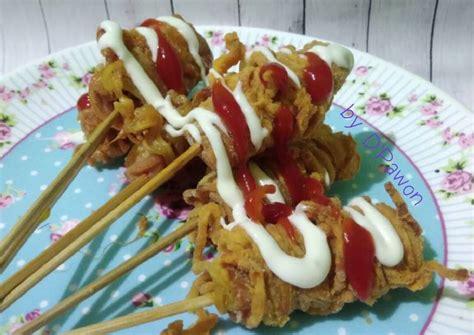 resep sosis gulung mie oleh dena andriany cookpad