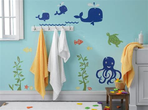 kids bathroom wall stickers 10 kid friendly ways to bathroom ideas home design and