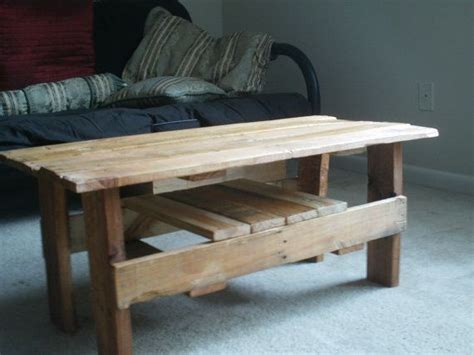 upcycled pallet coffee table diy pallet and coffee