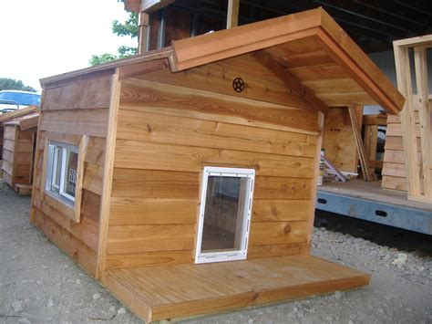 dog house windows warm dog house ideas
