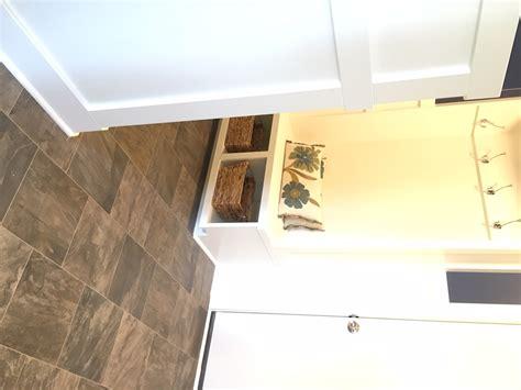Bathroom Floor Tile Direction Mixed Direction Entryway Tile Flooring Degraaf Interiors