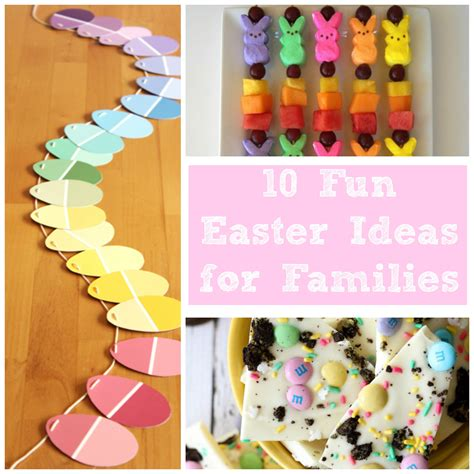 10 fun easter ideas easter recipes crafts egg hunt ideas