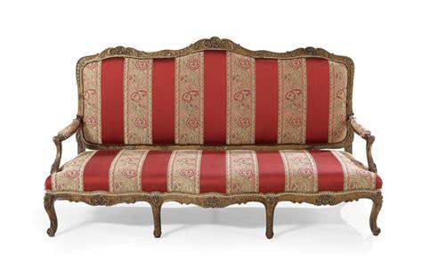 louis xiv sofa louis xiv style giltwood sofa