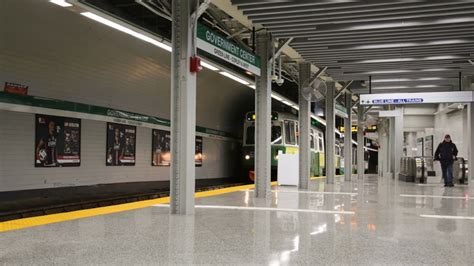 revamped  accessible mbtas government center station