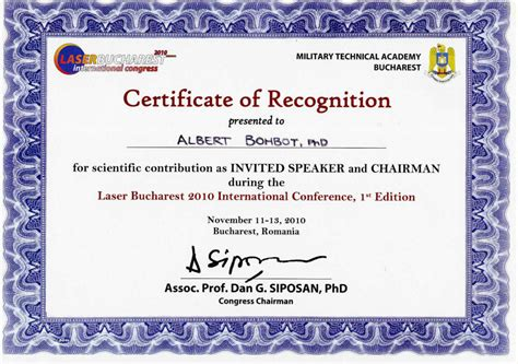 conference certificate template international conference certificate templates sports