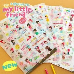 Ponybrown And Friends Diary Deco Sticker Korea 1000 Images About Stickers For Chanoir On
