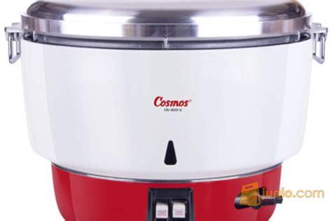 Rice Cooker Yang Besar gas rice cooker cosmos crj3020g masak nasi kapasitas besar