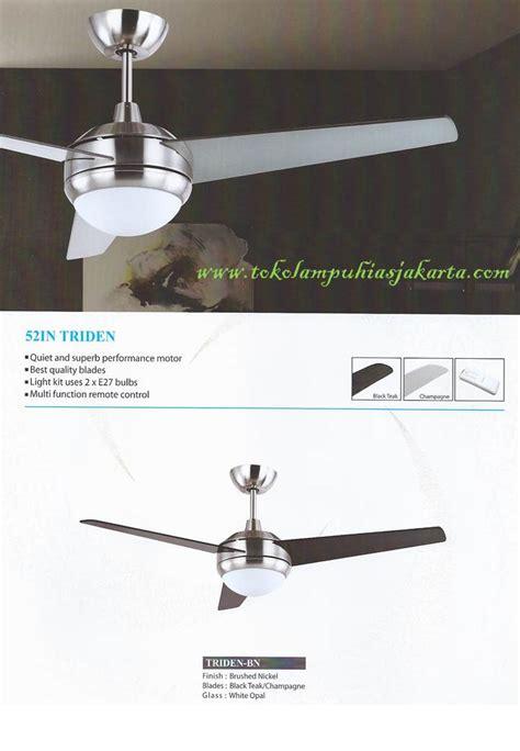 Kipas Angin Plafon Mt Edma Modern Viper 52 Ab Walnut kipas angin mediterania untuk ruang tamu kamar dan kantor