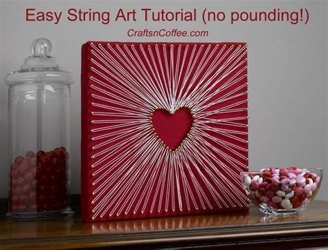Nail String Tutorial - a valentine s day string made the easy way
