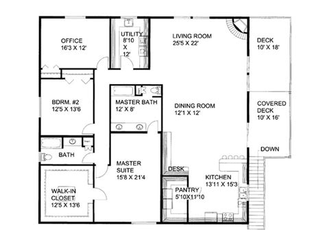 2nd floor plan plan 012g 0054 garage plans and garage blue prints from