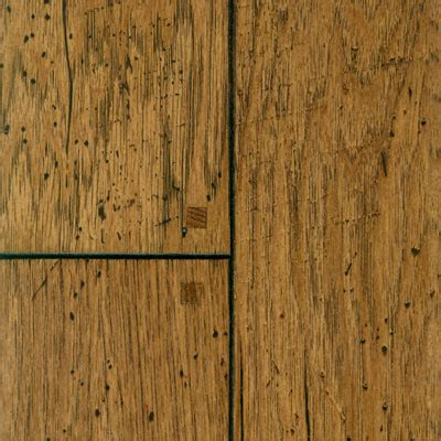 Patina Wood Floors by Patina Floors Hickory Tobacco Sculpted Pegged Hardwood Flooring
