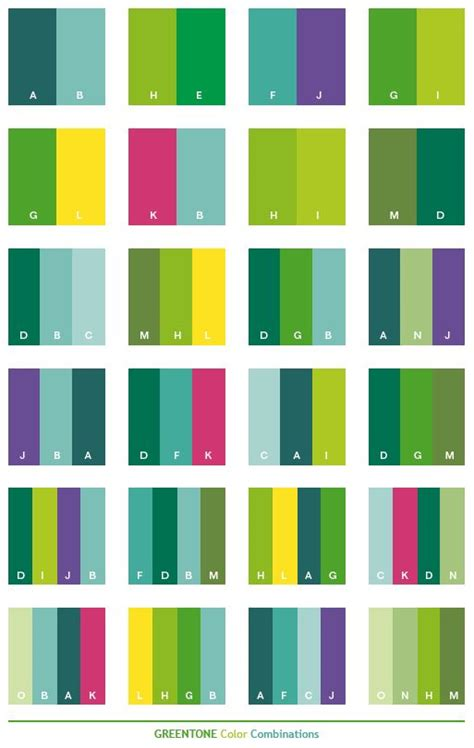 25 best ideas about green color schemes on pinterest