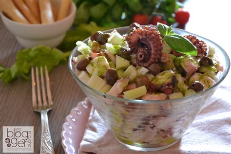 polpo sedano insalata di polpo con sedano e olive di taggia