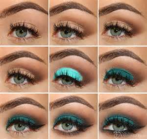 what color eyeliner for green emerald green eye makeup tutorial with a matte effect