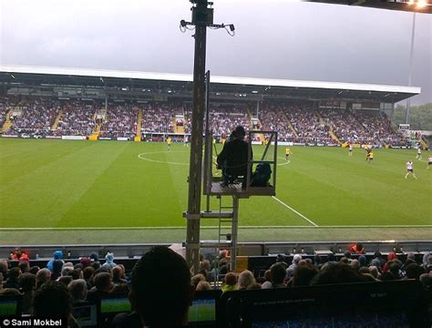 craven cottage seat view fulham fans express anger as bt cameras block view from 163