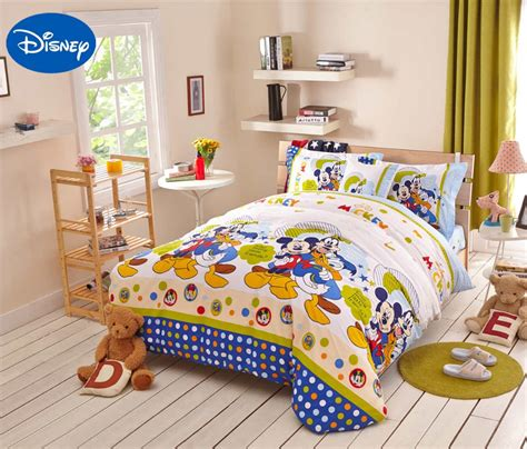 disney bedding sets aliexpress com buy mickey mouse donald duck comforter