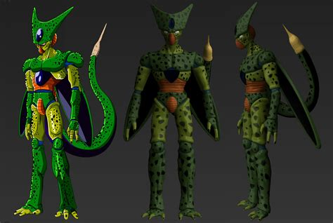 dbz cell imperfect more dbz pics http www imperfect cell dbz by ooro on deviantart