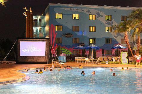 film blue hotel big blue pool at disney s art of animation resort brings