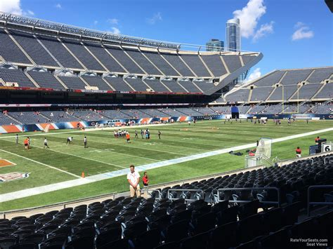 soldier field section 115 soldier field section 115 chicago bears rateyourseats com