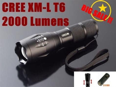 Special Ultrafire E17 Senter Led Cree Xm L T6 2000 Lumens Hitam Pali hkbayi ultrafire e17 2000 lumen flashlight led cree t6 xm