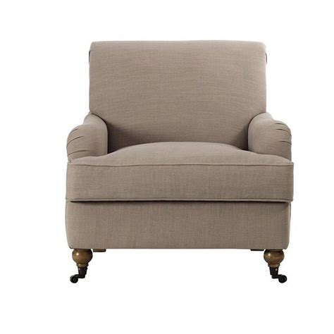 linen chair home decorators collection charles linen arm chair