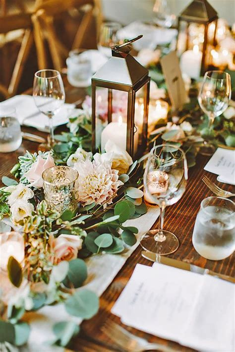 rustic wedding table decorations 25 best wedding centerpieces ideas on