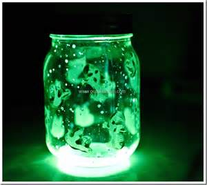 spooky crafts spooky glow jars craft