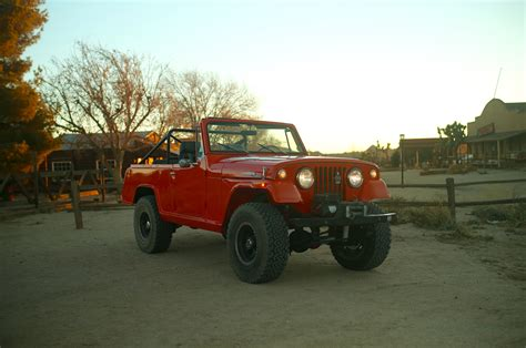 Jeep Jeepster The 1970 Jeepster Commando Is An Uncommon Roader