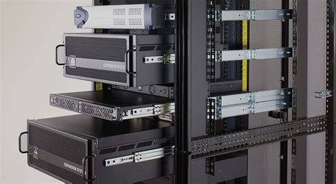 The Rack Electronics by Electronic Enclosures Rack Hardware Server Slides