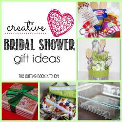 wedding shower gift ideas ideas for creative bridal shower gifts