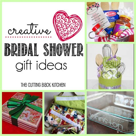 Bridal Shower Gift Ideas For The by Ideas For Creative Bridal Shower Gifts