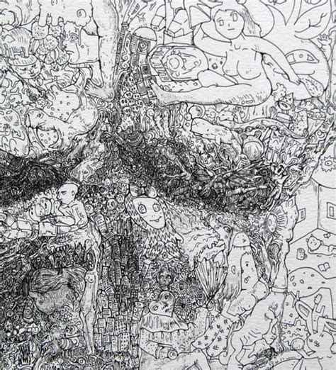 manic doodle drawings by sagaki keita manic doodles these will take you weeks to look through
