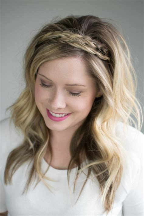 hairstyles and attitudes brunswick the double braided headband 2 ways to style it the