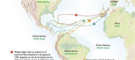 de donde salieron los barcos de cristobal colon descubrimiento y conquista de am 233 rica y de chile icarito