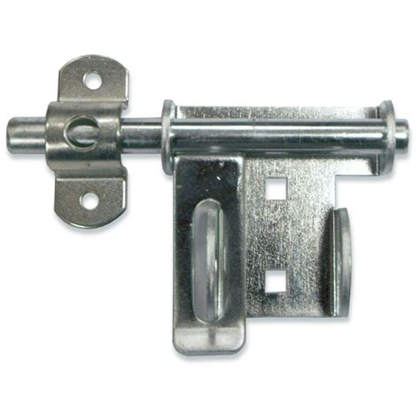 Front Door Bolt Locks Hardware Heavy Duty Garage Door Slide Bolt Q4 2p The Home Depot