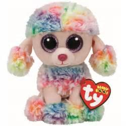ty beanie babies 37223 boos rainbow poodle boo ebay