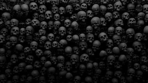 wallpaper for walls skulls skull many death background hd wallpaper