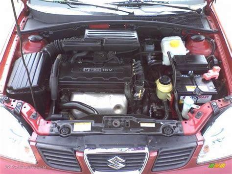 2007 Suzuki Forenza Motor 2004 Suzuki Forenza Ex 2 0 Liter Dohc 16 Valve 4 Cylinder