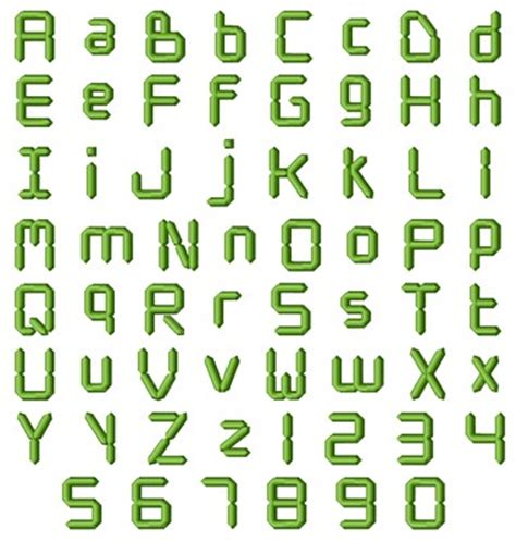 design digital font digital font by hopscotch home format fonts on