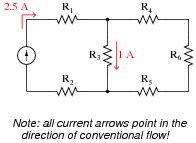 current through resistor network kirchhoff s laws dc electric circuits worksheets