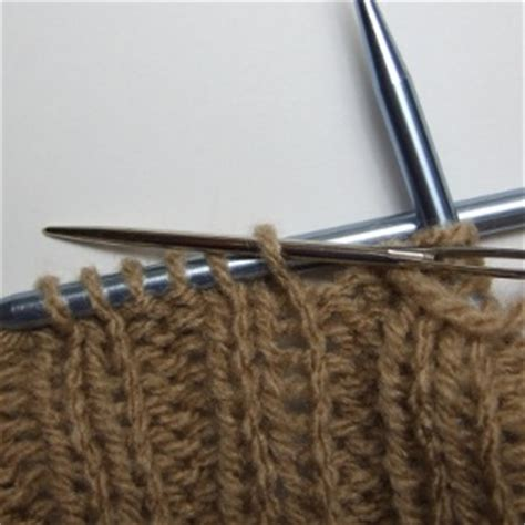 knit two purl two knit two purl two bind techniques s