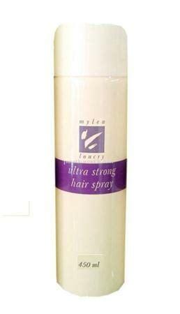 Mylea Ultra Strong Hair Spray 10 merk hairspray yang bagus untuk menata rambut