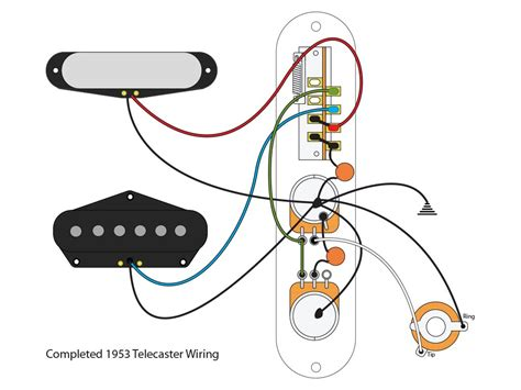 telecaster wiring diagram 25 wiring diagram images